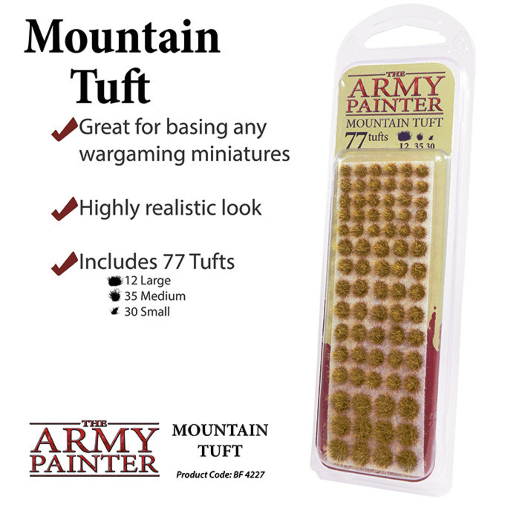The Army Painter Battlefields: Mountain Tuft (2019)