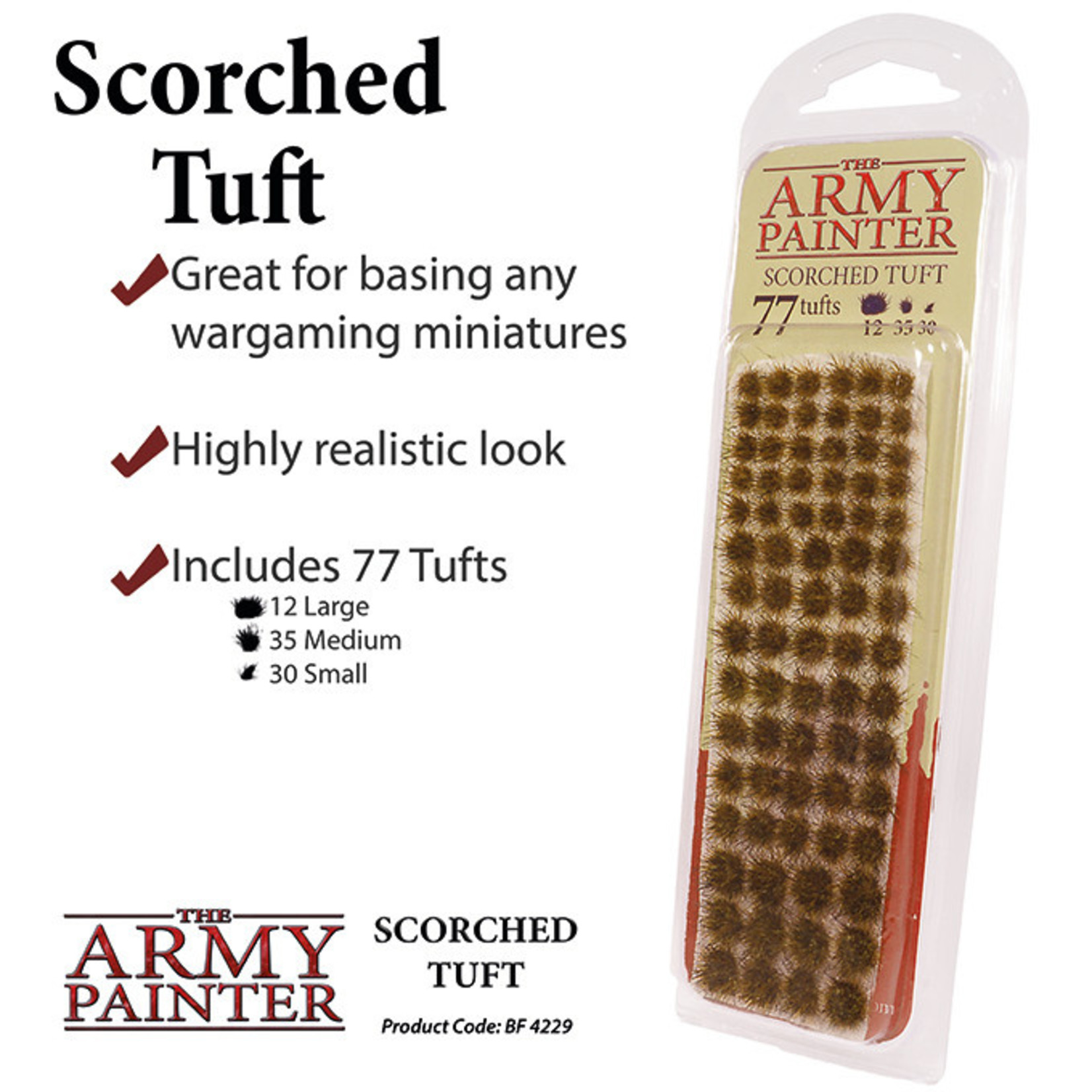 The Army Painter Battlefields: Scorched Tuft (2019)