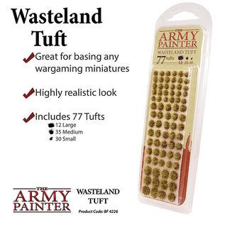 The Army Painter Battlefields: Wasteland Tufts (2019) - Army Painter