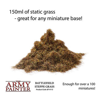 The Army Painter Basing: Steppe Grass (2019) - Army Painter