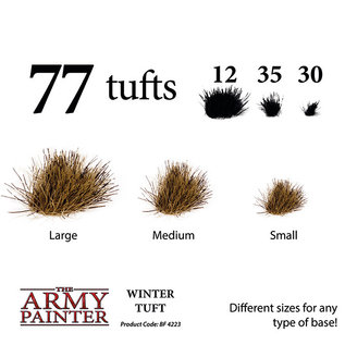 The Army Painter Battlefields: Winter Tuft (2019) - Army Painter