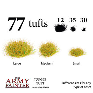The Army Painter Battlefields: Jungle Tuft (2019) - Army Painter