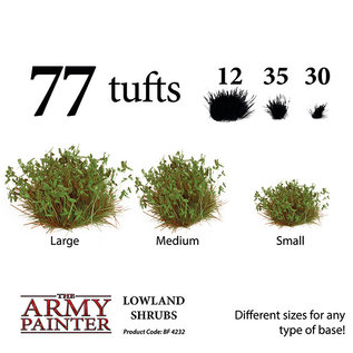 The Army Painter Battlefields: Lowland Shrubs (2019) - Army Painter