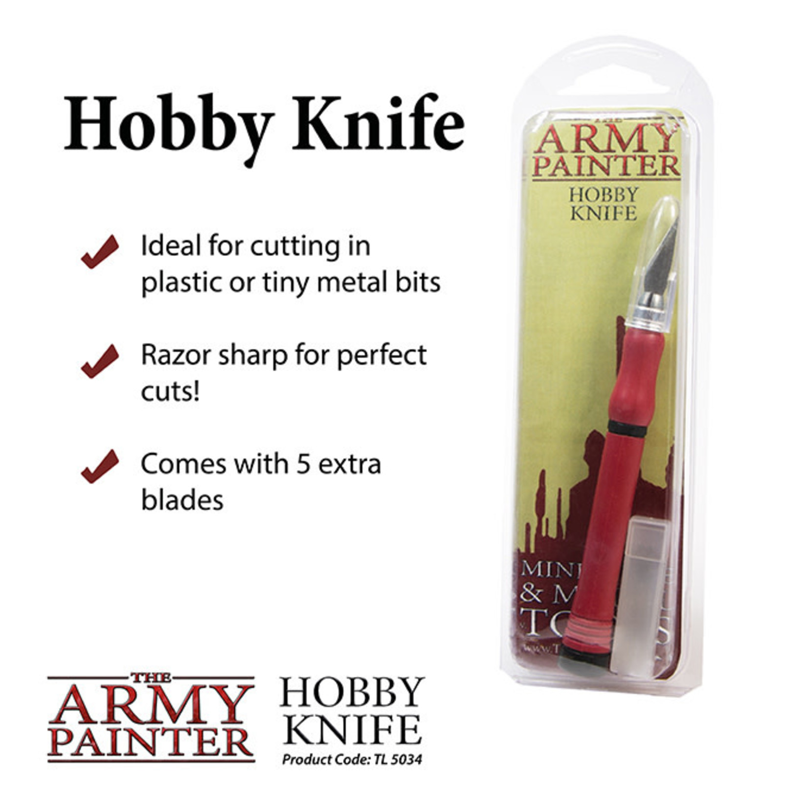 The Army Painter Hobby Knife (2019)