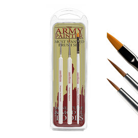 The Army Painter Most Wanted Brush Set (2019) - Army Painter