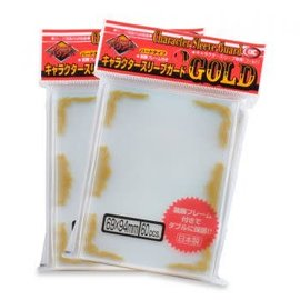 KMC KMC Oversized Character Sleeve Guard Gold 60ct