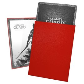 Ultimate Guard Katana Sleeves Red - Ultimate Guard