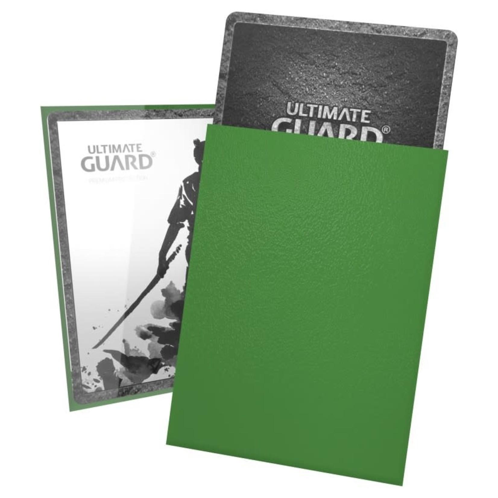 Ultimate Guard Katana Sleeves Green - Ultimate Guard