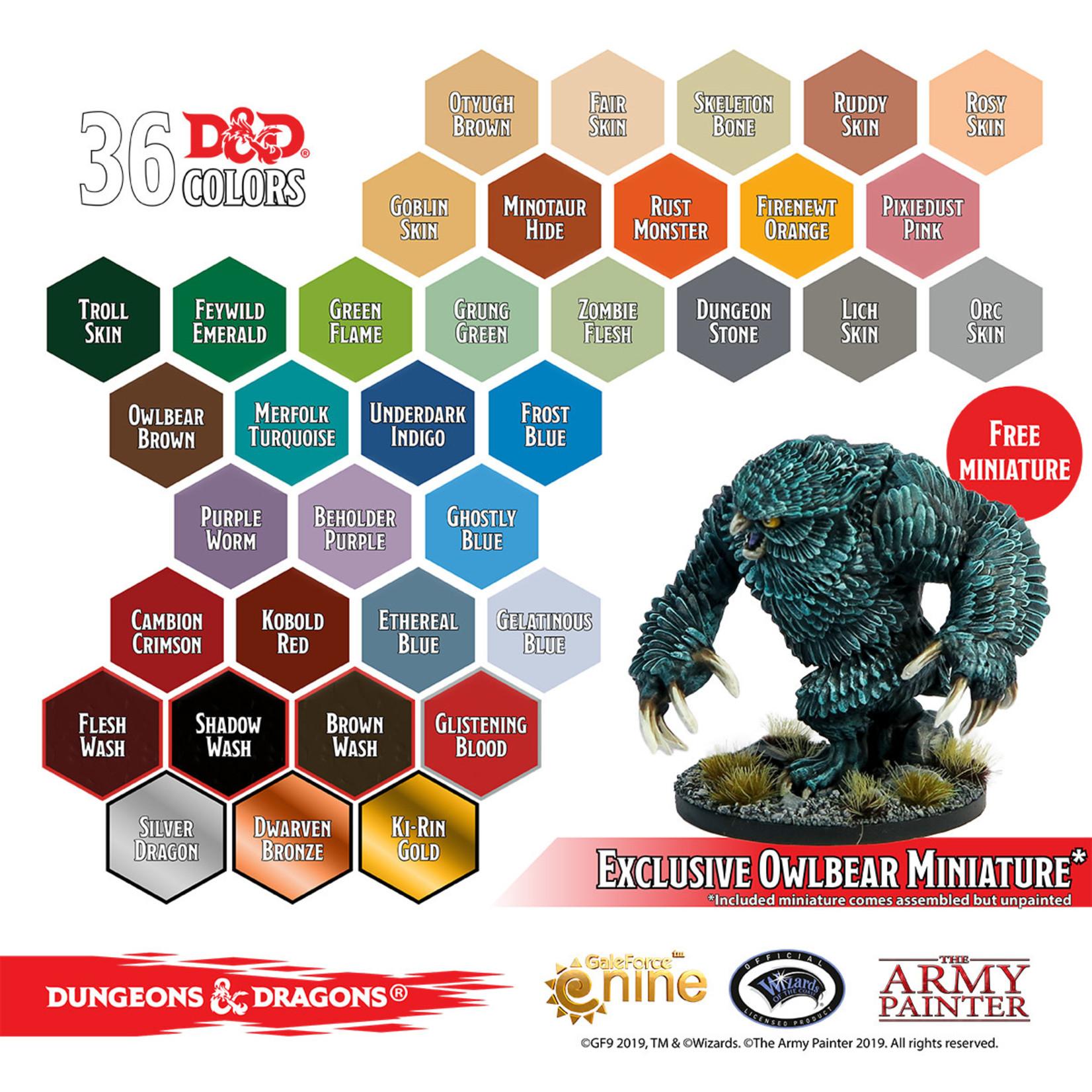 The Army Painter D&D Nolzur's Marvelous Pigments: Monsters Paint Set
