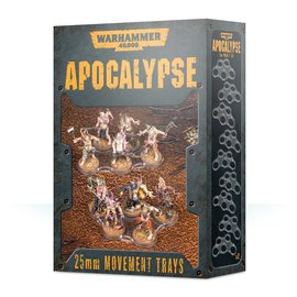 Games Workshop Apocalypse Movement Trays 25mm