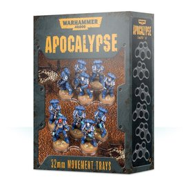 Games Workshop Apocalypse Movement Trays 32mm