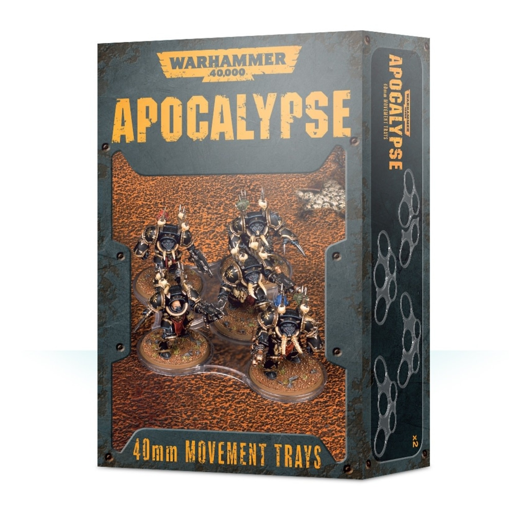 Games Workshop Apocalypse Movement Trays 40mm