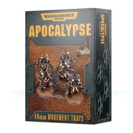Games Workshop Apocalypse Movement Trays 40mm