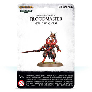 Games Workshop Bloodmaster, Herald of Khorne