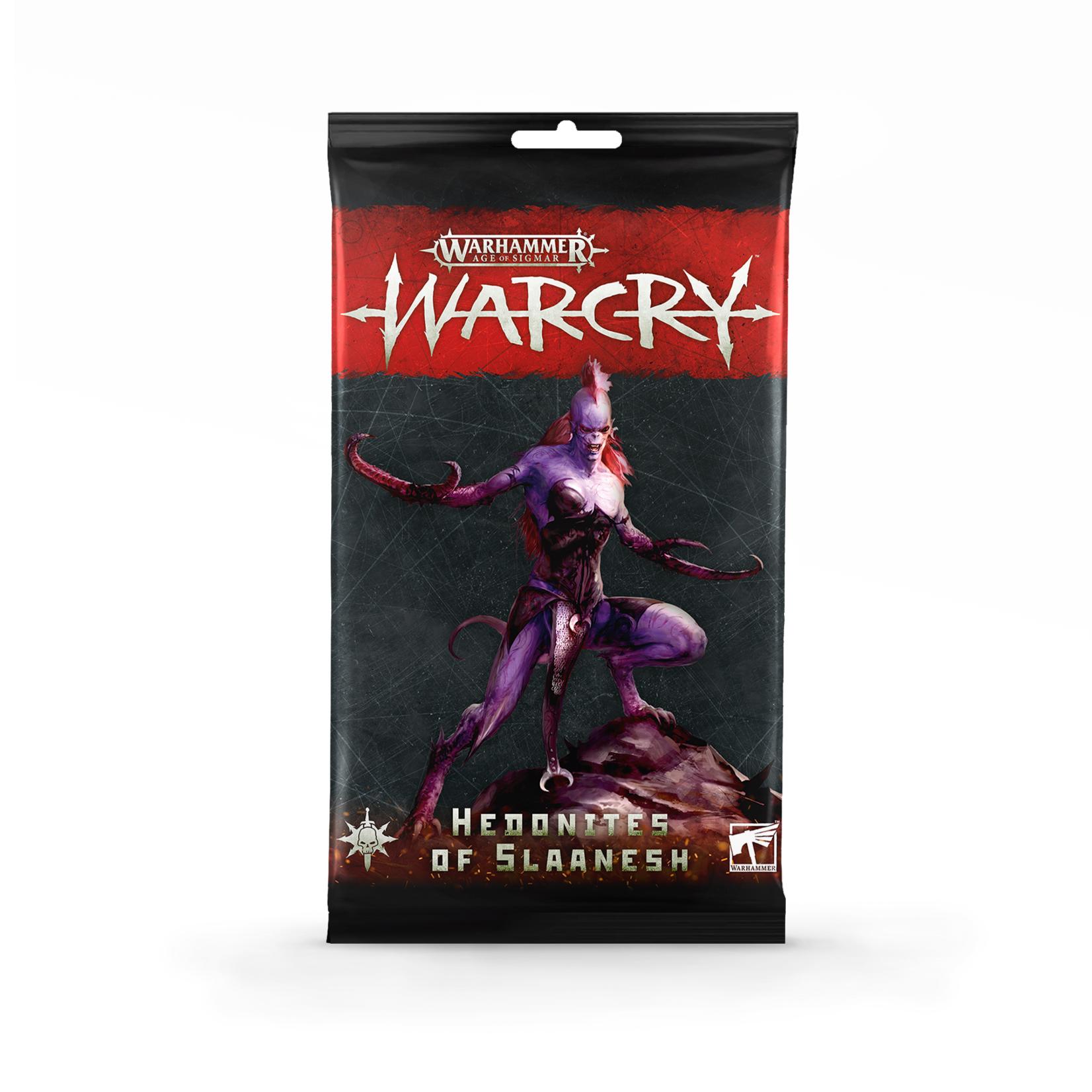 Games Workshop Hedonites Of Slaanesh Card Pack
