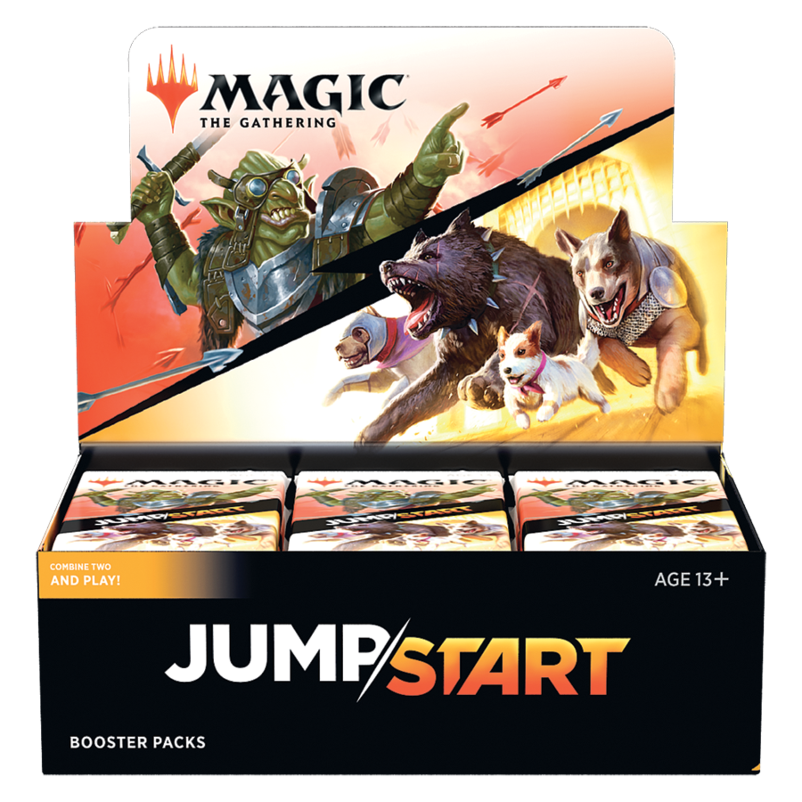 Wizards of the Coast Jumpstart Booster Box Display