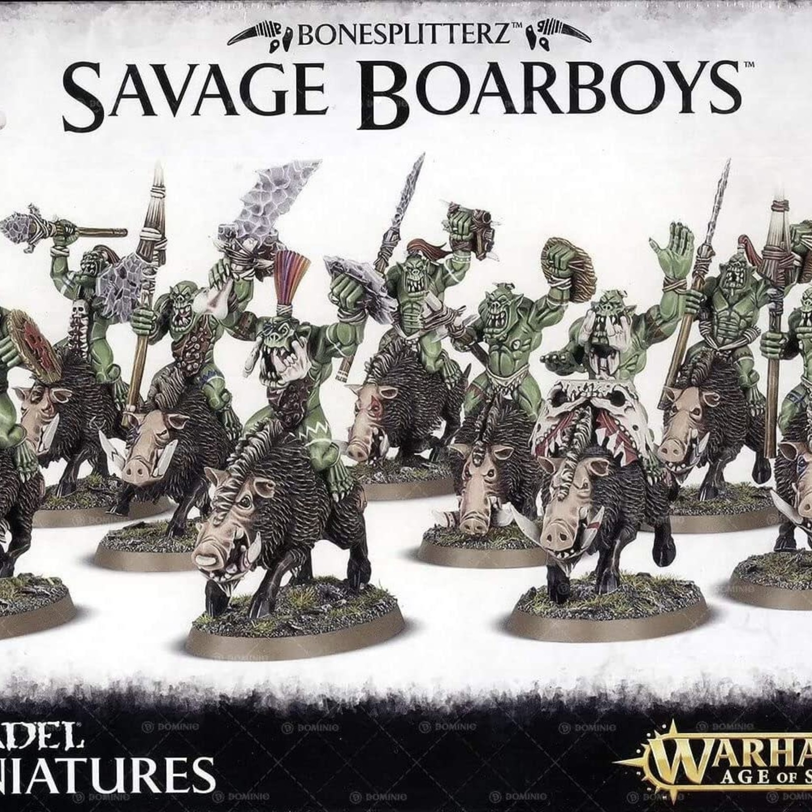 Games Workshop Savage Boarboys