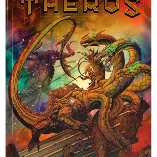 Wizards of the Coast PREORDER D&D Mythic Odysseys of Theros, Alternate Cover (July 21st)
