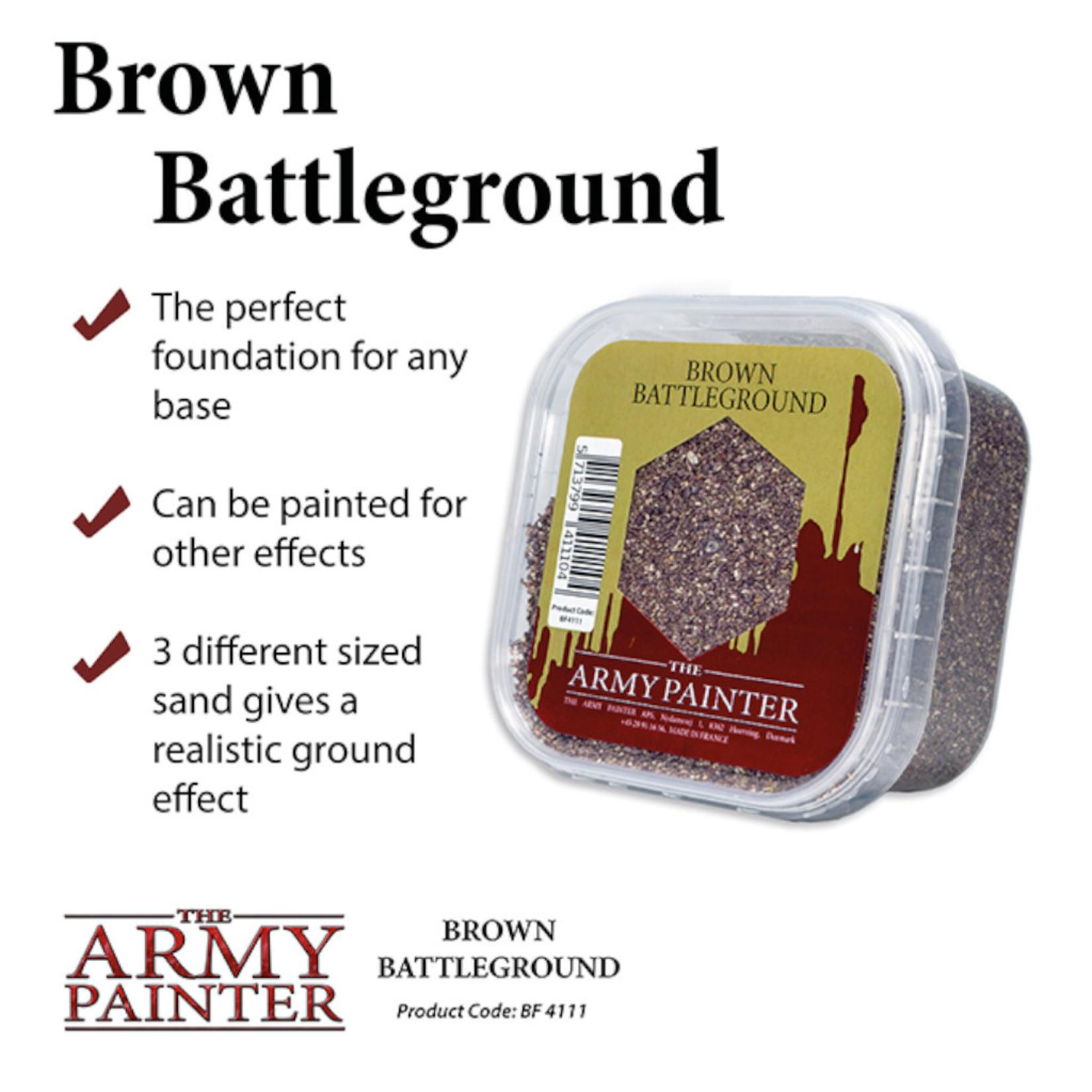 The Army Painter Basing: Brown Battleground (2019)