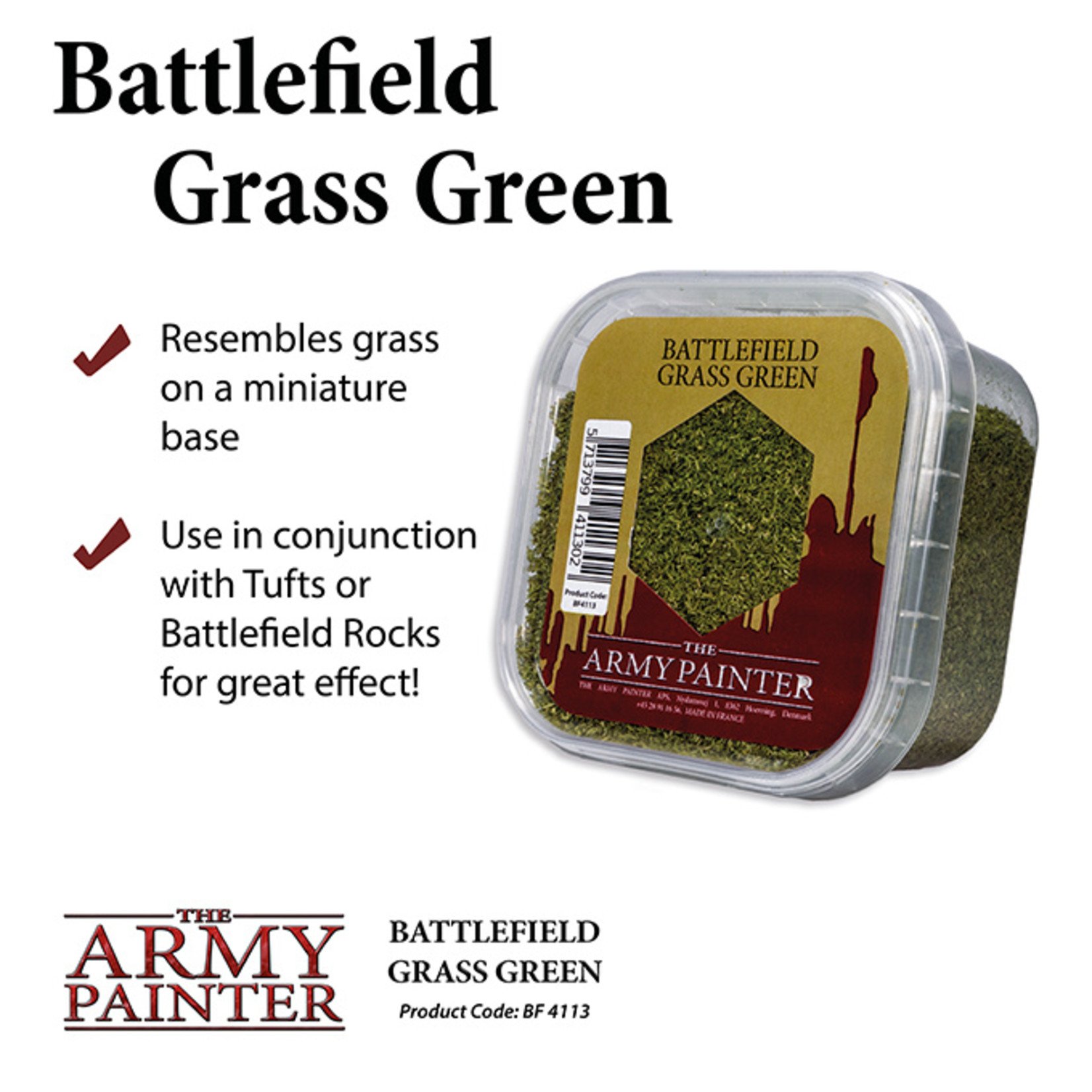 The Army Painter Basing: Grass Green (2019)