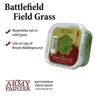 The Army Painter Basing: Field Grass (2019) - Army Painter