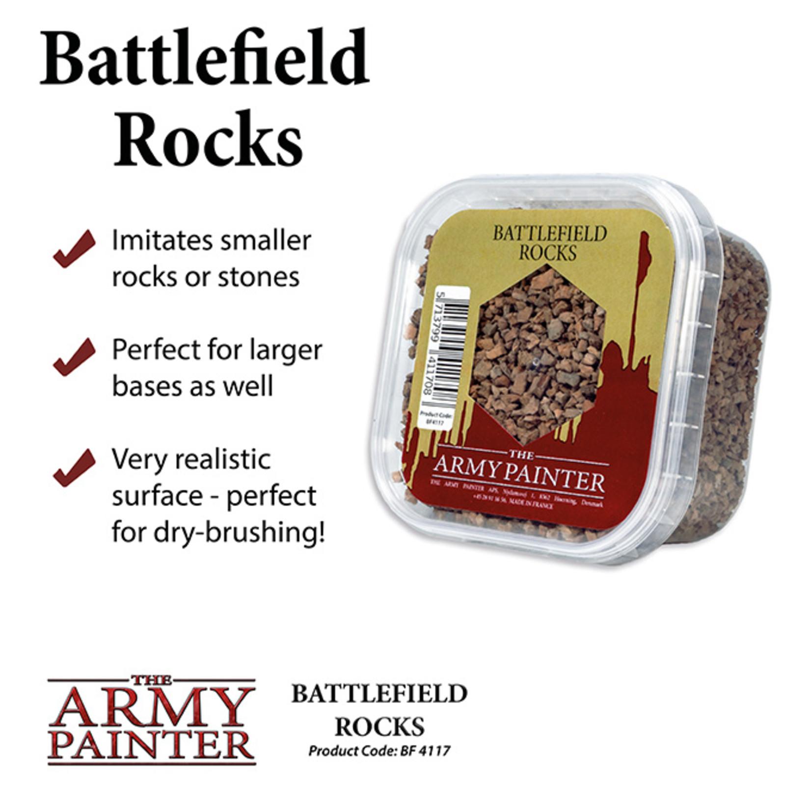 The Army Painter Basing: Battlefield Rocks (2019)
