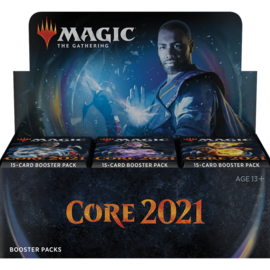 Wizards of the Coast M21 / Core Set 2021 Draft Booster Box Display