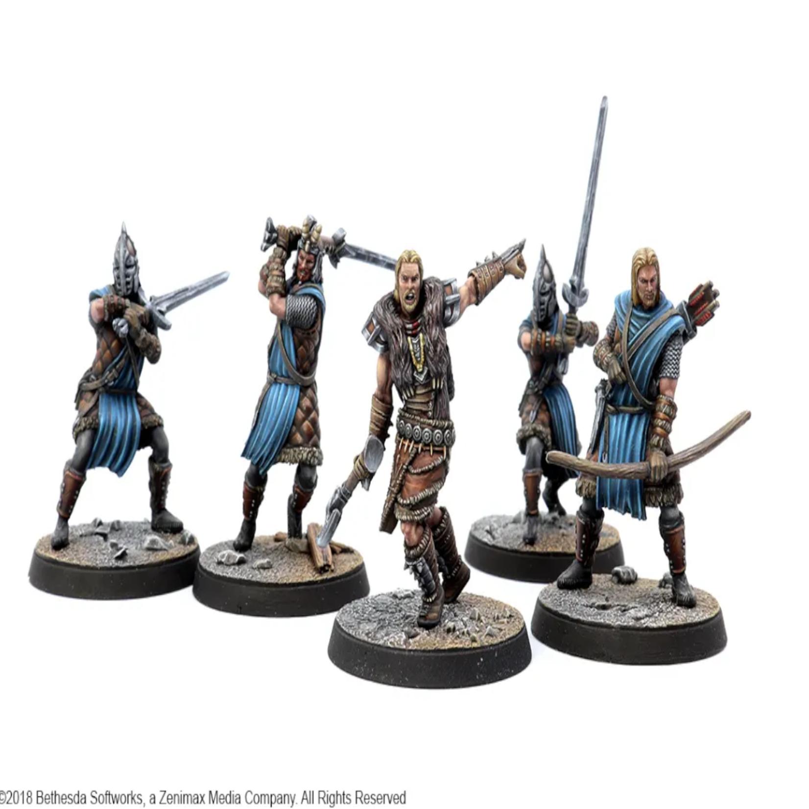 Elder Scrolls Call To Arms: Stormcloak Plastic Faction Starter