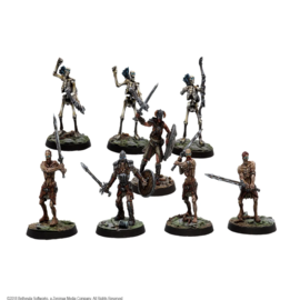 Elder Scrolls Call To Arms: Bleak Falls Barrow Plastic Delve Set