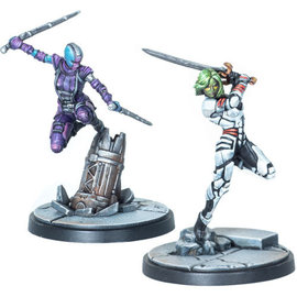 Crisis Protocol Gamora & Nebula