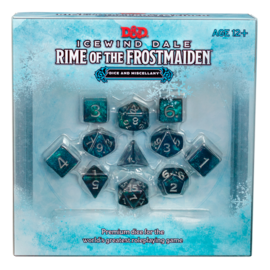 Wizards of the Coast PREORDER - D&D Icewind Dale: Rime of the Frostmaiden Dice & Miscellany (Sept 15th)
