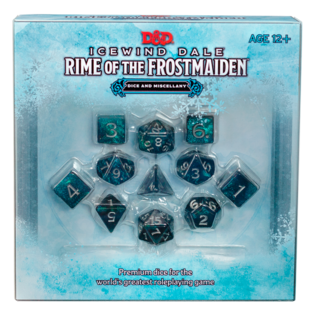 Wizards of the Coast PREORDER - D&D Icewind Dale: Rime of the Frostmaiden Dice & Miscellany (Sept 29th)