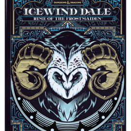 Wizards of the Coast PREORDER - D&D Icewind Dale: Rime of the Frostmaiden, Alternate Cover (Sept 15th)