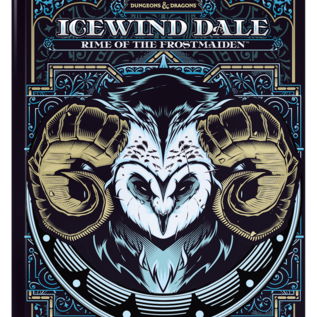 Wizards of the Coast PREORDER D&D Icewind Dale: Rime of the Frostmaiden, Alternate Cover (Sept 15th)
