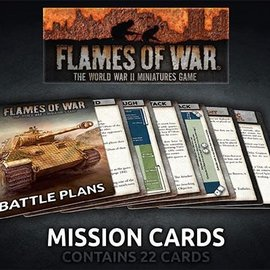 Flames of War Flames of War Mission Cards (2019)