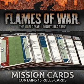 Flames of War Flames of War Mission Cards
