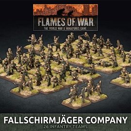 Flames of War Fallschirmjager Company (Plastic)