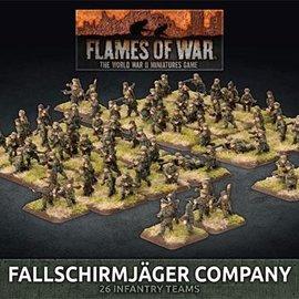 Flames of War Fallschirmjager Company (Plastic)