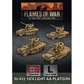 Flames of War Sd Kfz 10/4 Light AA Platoon
