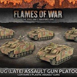 Flames of War StuG (Late) Assault Gun Platoon (Plastic)