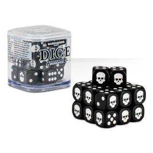Games Workshop Citadel 12mm Dice Set (Black)