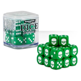 Games Workshop Citadel 12mm Dice Set (Green)