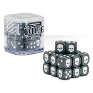 Games Workshop Citadel 12mm Dice Set (Grey)