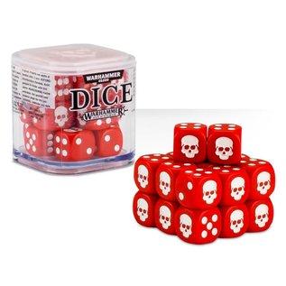 Games Workshop Citadel 12mm Dice Set (Red)