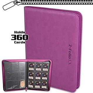 BCW Supplies 9-Pocket Z-Folio LX