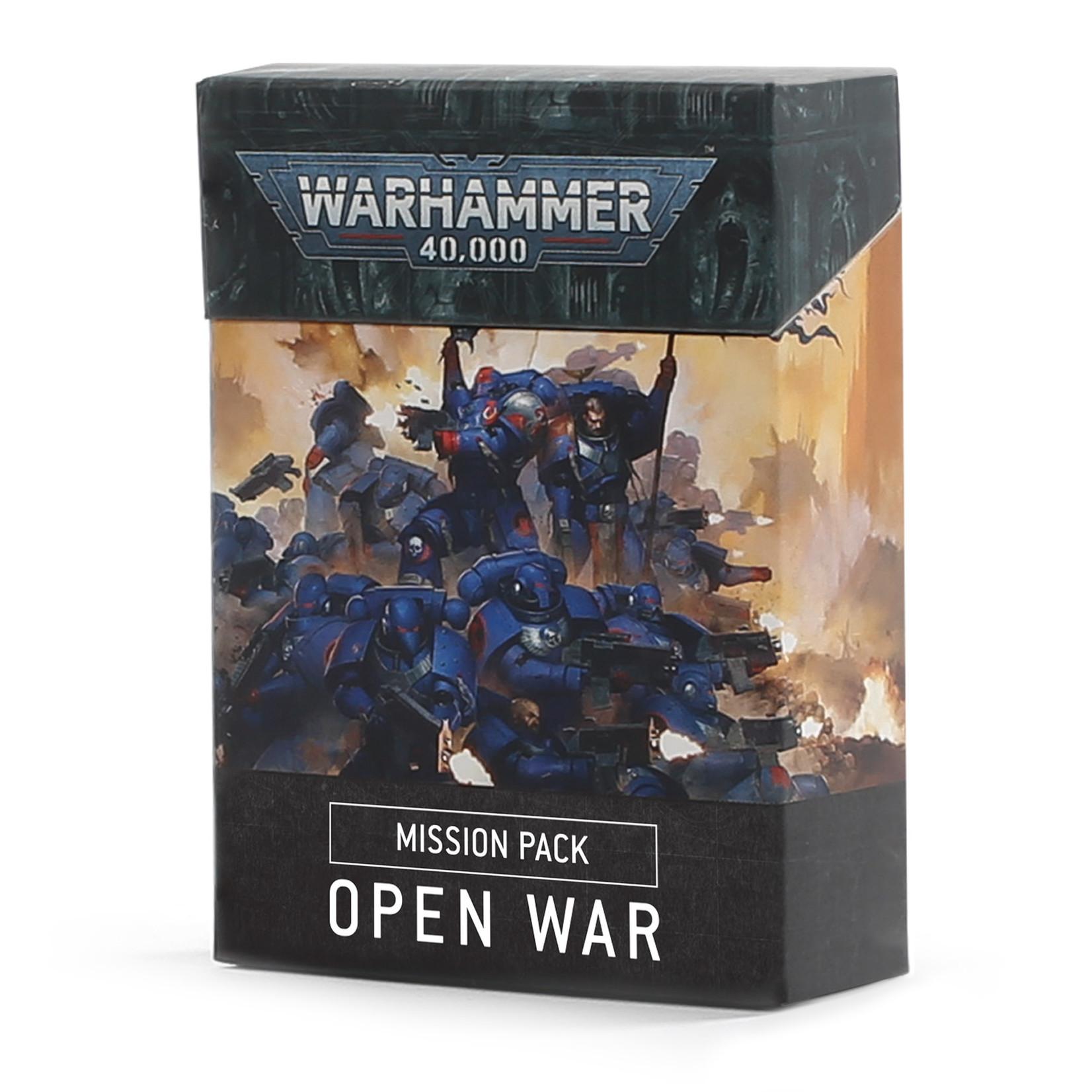 Games Workshop Open War Cards
