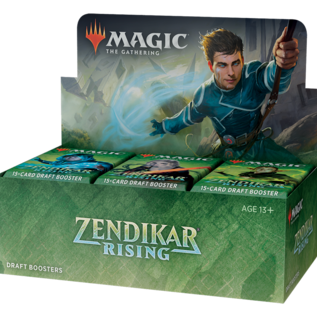 Wizards of the Coast PREORDER - Zendikar Rising Draft Booster Box Display (September 25th)
