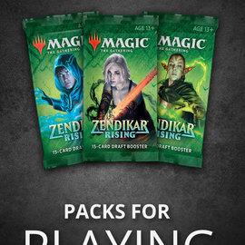 Wizards of the Coast PREORDER - Zendikar Rising Draft Booster Pack (September 25th)