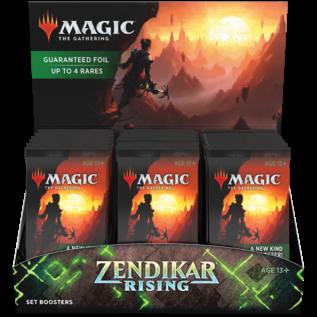 Wizards of the Coast Zendikar Rising Set Booster Box Display
