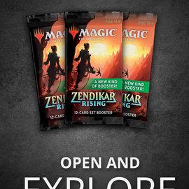 Wizards of the Coast PREORDER - Zendikar Rising Set Booster Pack (September 25th)